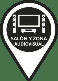 Salón y Zona Audiovisual